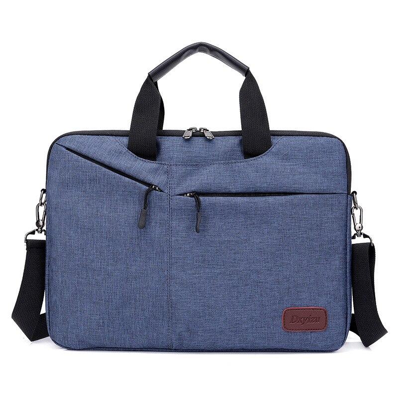 14 Zoll Männer Laptop Tasche Business Aktentasche Schulter Handtaschen Weiblichen Umhängetaschen Für Frauen 2019 Für Macbook Xiaomi Huawei äRger LöSchen Und Durst LöSchen