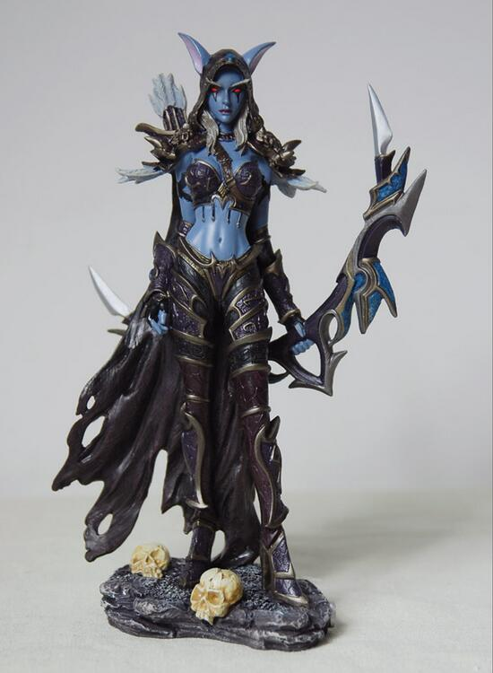 New Sylvanas Windrunner doll Classic Toys For Boys Model Action Figure With Retail Box new hot 17cm avengers thor action figure toys collection christmas gift doll with box j h a c g