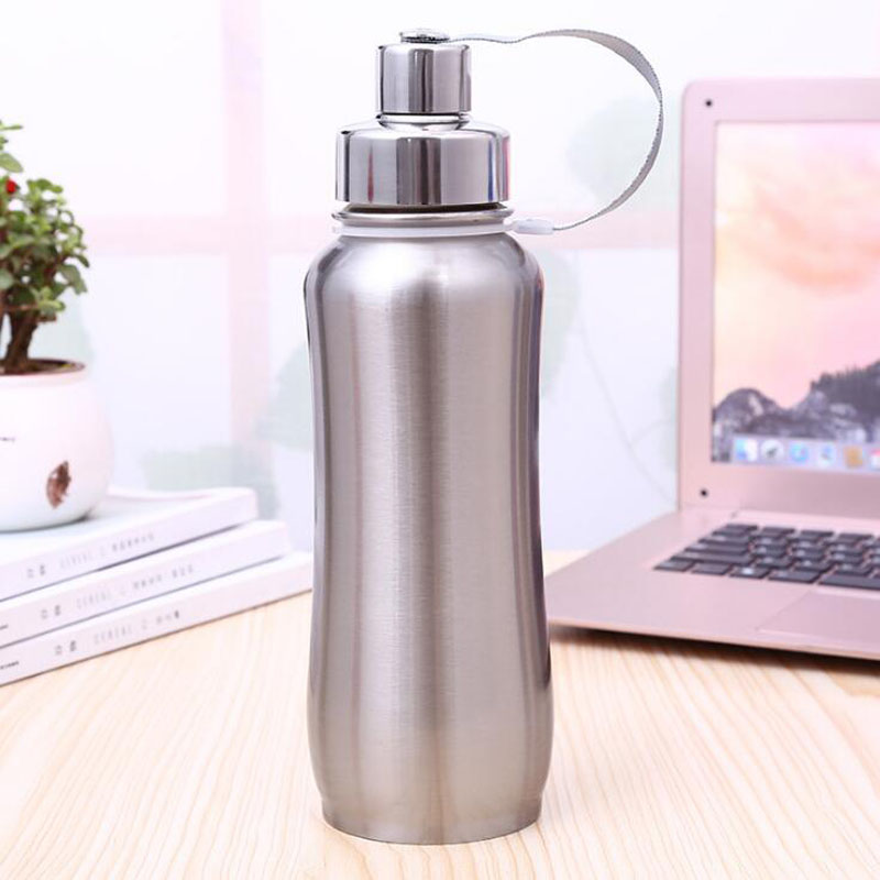 Brand New 500ml Thermal Cup 304 Stainless Steel Vacuum Flask Portable Water Bottle Thermos Bottle in Vacuum Flasks Thermoses from Home Garden
