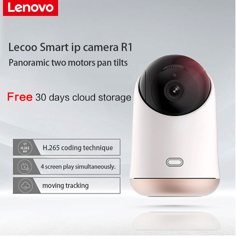 Lenovo Lecoo Smarts IP Camera R1 cctv security font b Wireless b font ultra clear 1080P