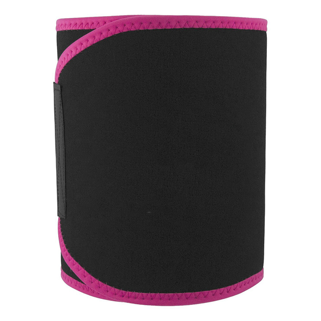 1 Pcs Lumbar Waist Support Waist Trimmer Belt Unisex Exercise Weight Loss Burn Fat Shaper Gym Fitness Sweat Belt For Men Women 2