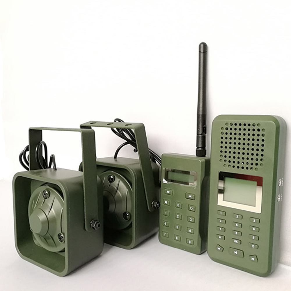 Image 3 - Decoy Hunting Brid caller 300 500m Remoteremote Control 2*50W External Loud Speaker Electronics Animal Caller for Hunting-in Hunting Cameras from Sports & Entertainment