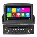 Wince duplo din car dvd player gps para PEUCEO T Novo 307 car navigator com IPOD rdaio, controle da roda de direcção