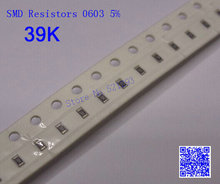 Chip Resistors 0603 39 K ohm 39K 5% SMD Resistors 1/10W 500PCS/LOT