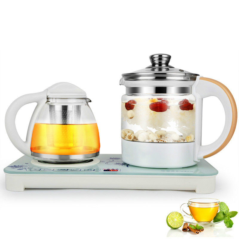 Electric kettle Raise  body pot fully automatic thickened glass  multi-function tea boiled teapot glas Overheat Protection health raising pot is fully automatic and thickened glass