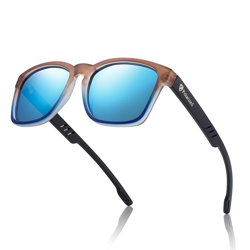 Design da marca clássico óculos de sol homem polarizado uv400 alta qualidade tr90 óculos polarizados esporte gafas de sol GR8011-1