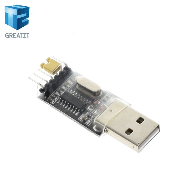 GREATZT CH340  module USB to TTL CH340G upgrade download a small wire brush plate STC microcontroller board USB to serial