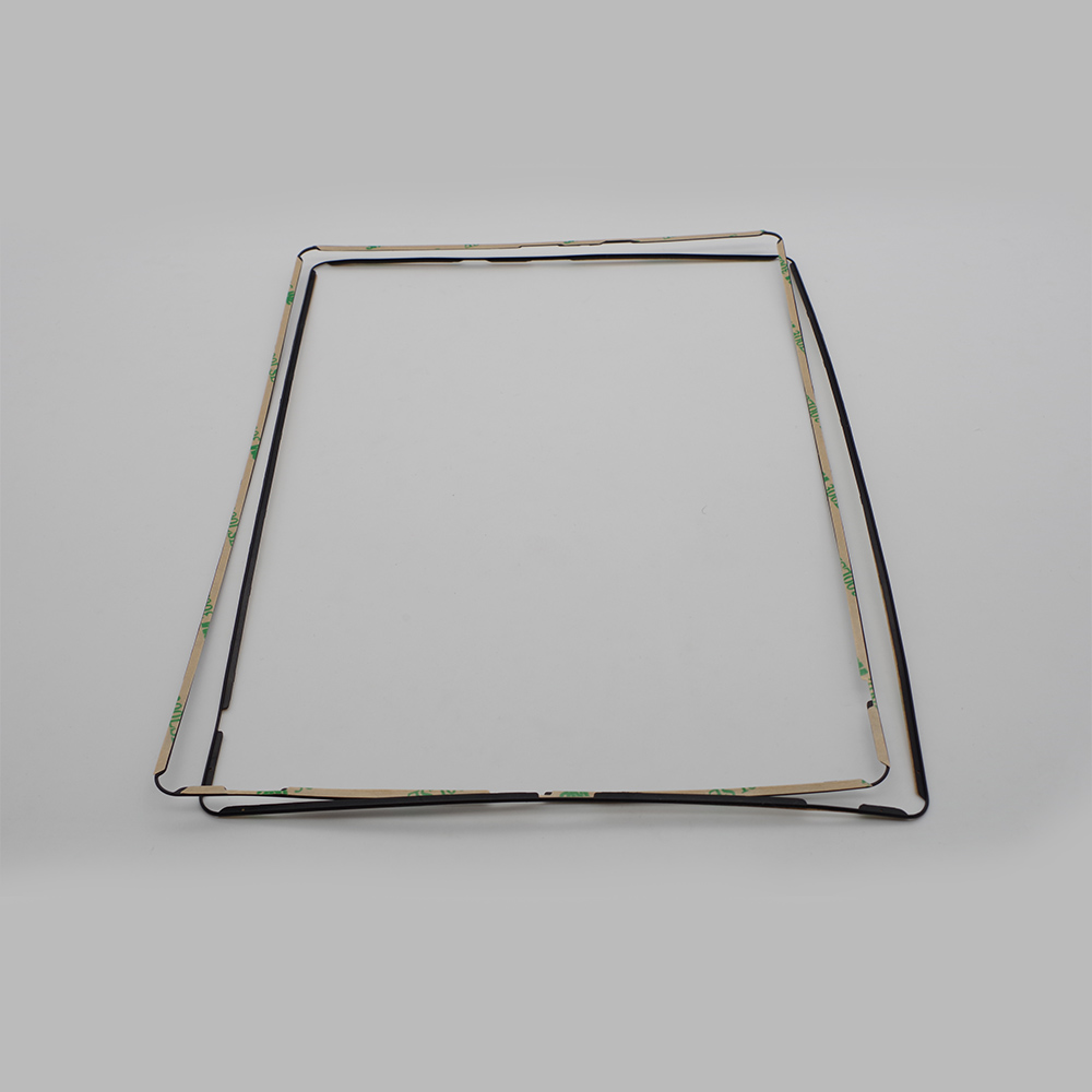 100pcs lot For iPad 2 3 4 Screen Repair Middle Frame Bezel White Black with Sticker