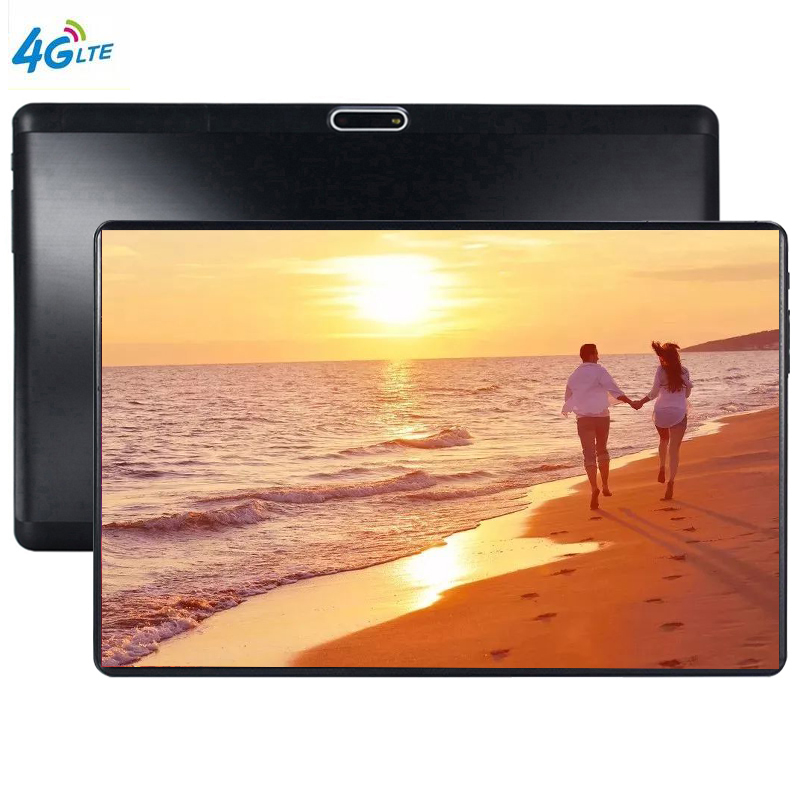 MTK6753 Android 9.0 The Tablet 8 Core 64GB ROM 3G 4G LTE 1280 800 IPS 5.0MP SIM Card Ips Tablet 2.5D Glass WiFi GPS FM Bluetooth