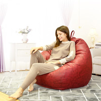Technology Cloth Bean Bag Cover Fashion Pouf Beanbag Chair No Filler Living Room Bedroom Sofa Bed Lazy Casual Soft Tatami Couch