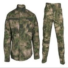 Уличная A-TACS FG камуфляжная охотничья тренировочная тактическая форма военная одежда боевые наборы куртка брюки охотничья походная одежда