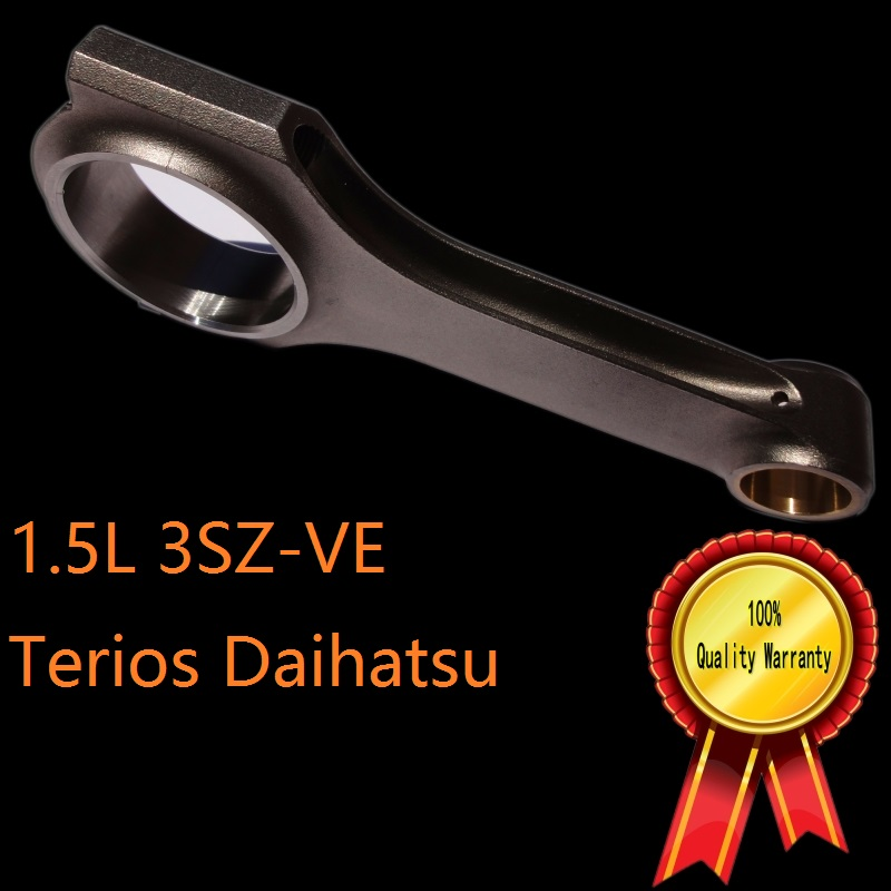 ФОТО 3SZ-VE  H beam connecting rod R type 1.5 VVT-i  TRD Daihatsu Terios Mini SUV 4WD 2WD lockable central differential 91.8mm stroke