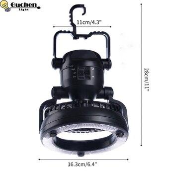 Lumi re de ventilateur de Camping Portable 18 LED 2 5 W 2 en 1 lampe