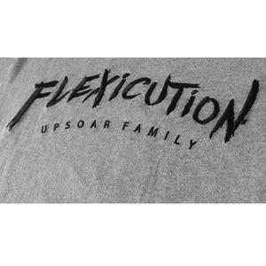 Image 5 - 2020 Mannen T shirt Hip Hop Flexicution Logic Rapper Hiphop T Shirts Borduren Harajuku Tshirt Katoen Tops Tees Streetwear Zomer
