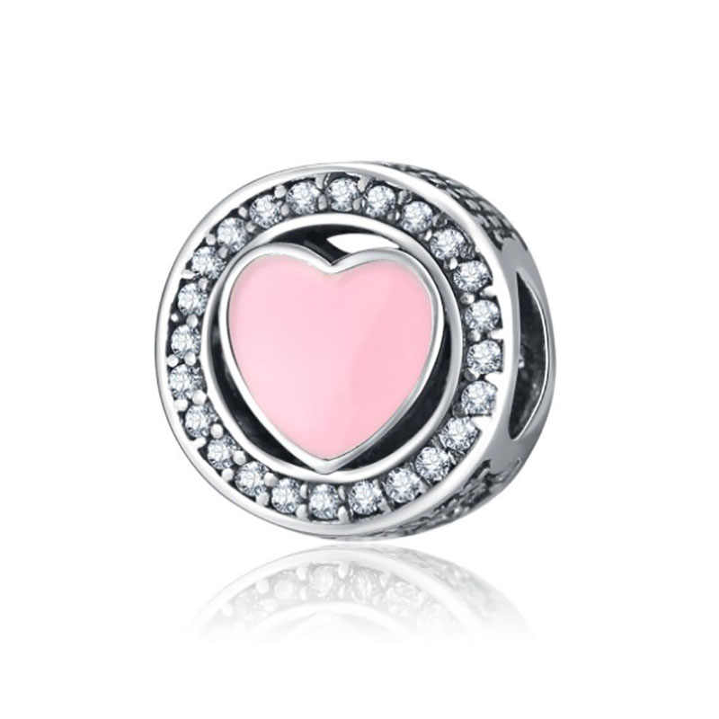 Fit encantos pulsera de plata ley prata 925 pulseira original jóias contas perles pour la fabricação de bijoux charme