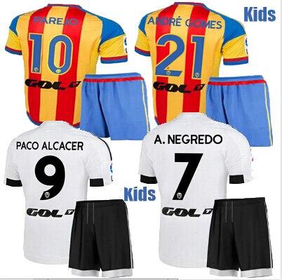 Camiseta Valencia CF niños