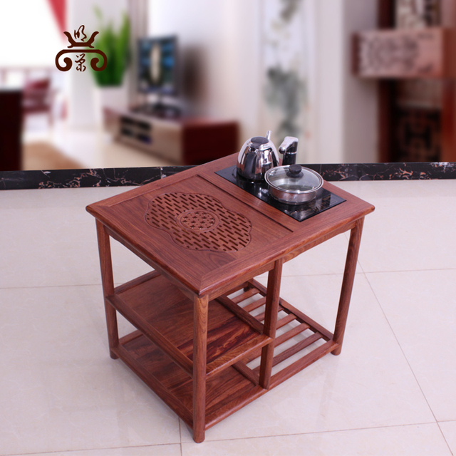 Mahogany Furniture Chinese Tea Small Car Hedgehog Rosewood Coffee Table  Tables Antique Wood Shelf Teasideend