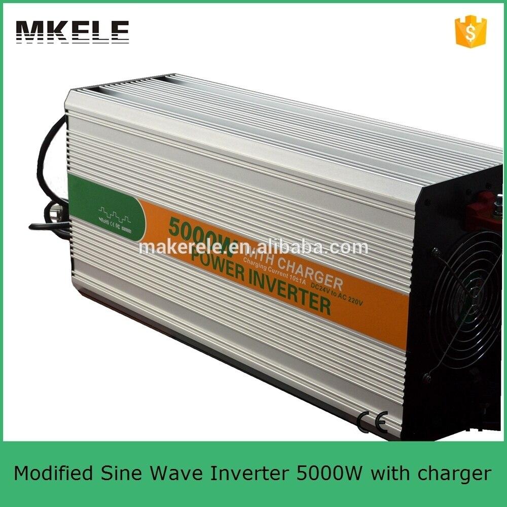 Mkm5000 242g C 24vdc Rechargeable Power Inverter 5000 Watt