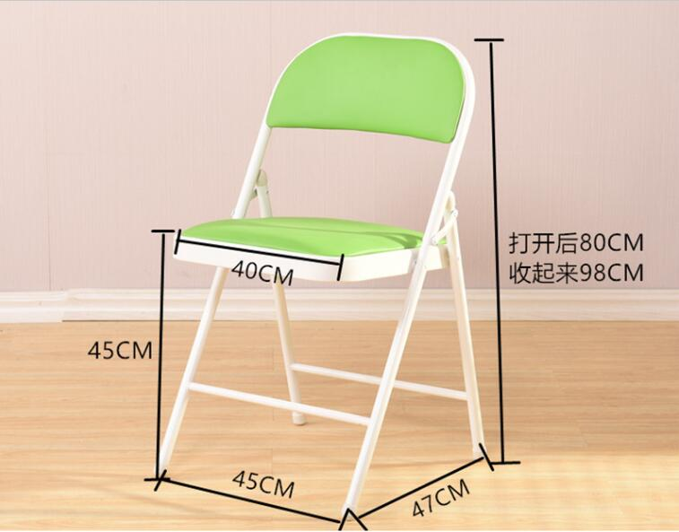High quality folding dinning chairs outdoor portable leisure chairs Computer Chair стул для рыбалки gdt portable folding chairs