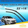 "Lâminas de limpador Para OPEL ASTRA H (2005-2010) 2006 2007 2008 2009 Car Windscreen Windshield Wiper Wiper Blade 22 ""+ 18"" carros estilo"