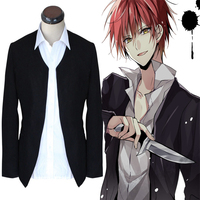 Anime Assassination Classroom Cosplay Costumes Akabane Karma Cosplay Suit Coat Halloween Carnival Party Ansatsu Kyoushitsu Coat