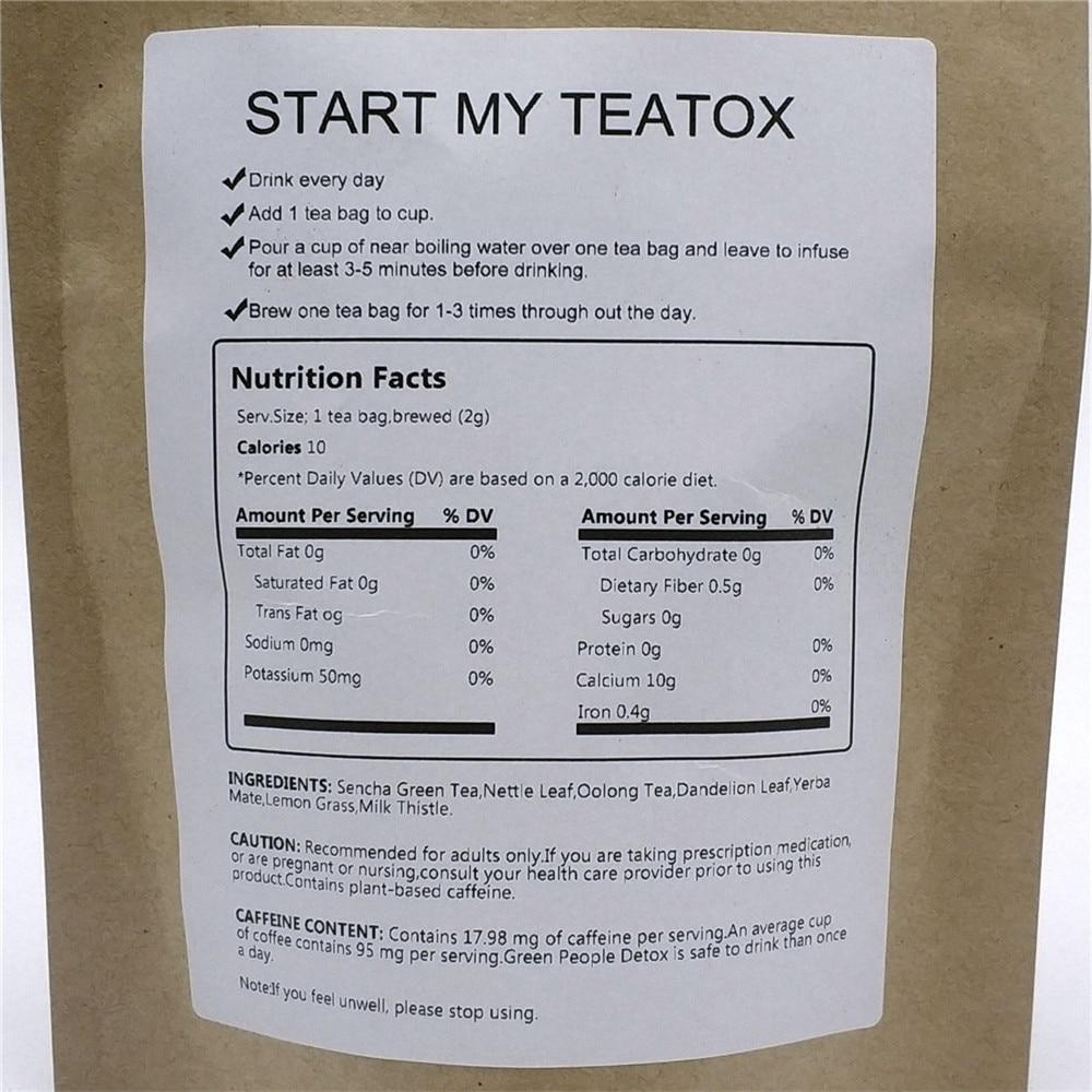 BOOTEA Bedtime Detox Tea 28 Days Evening Tea 100% Pure Natural Fat Burner Skinny Weigh Loss Tea