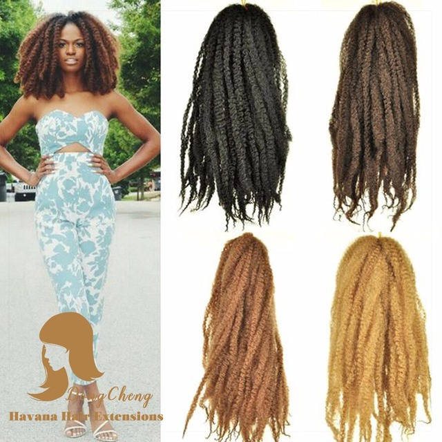 Crochet Hair Extension New Balance 18 Inches Kanekalon Toyokalon Afro Twist Marley Braid Box