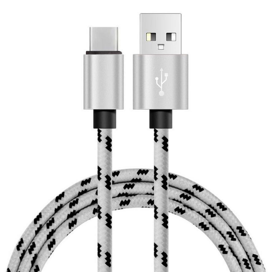 1 м 2A USB-C USB 3.1 Тип c данных и синхронизации быстрее Зарядное устройство кабель для oneplus 3 т /Google Pixel XL/ZTE zmax про z981 9.8