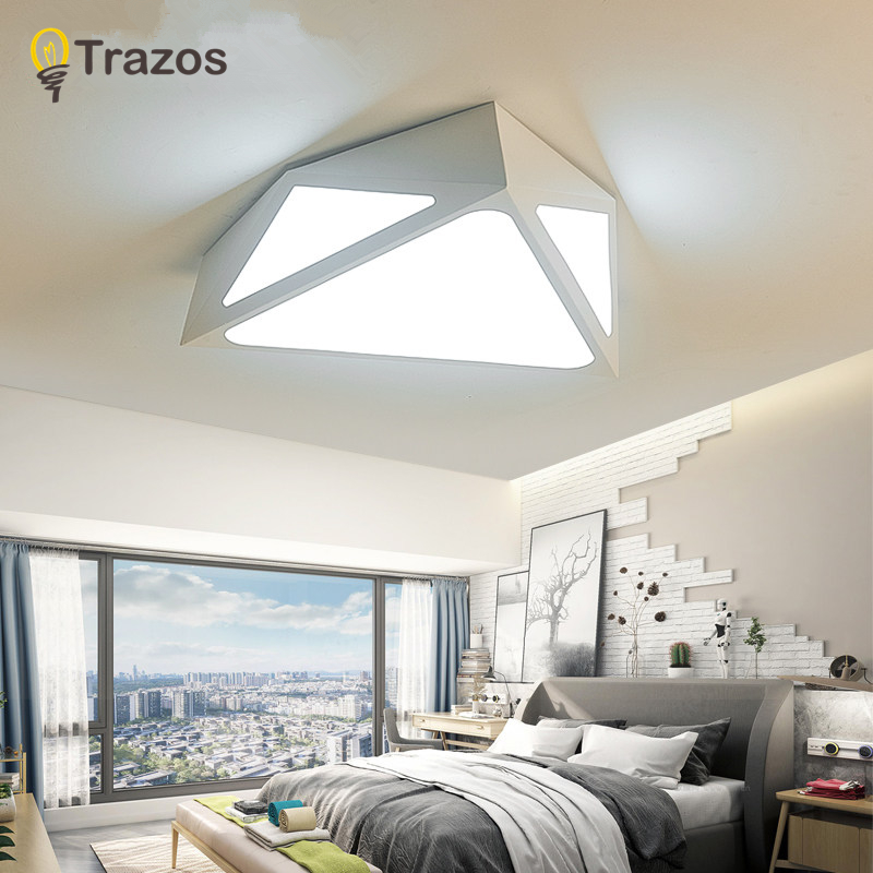 Geometric Led Ceiling Lights Modern Simplicity Ultra-thin Homes Toilet Lamps Creative Corridor Aisle Home Lighting Fixtures japanese style tatami floor lamp aisle lights entrance corridor lights wood ceiling fixtures tatami wood ceiling aisle promotion