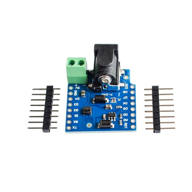 DC Power Shield V1.1.0 for WEMOS D1 mini