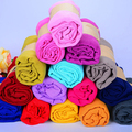 New Lady Women Long Candy Color Soft Scarf Wrap Shawl Stole Accessory Xmas Gift