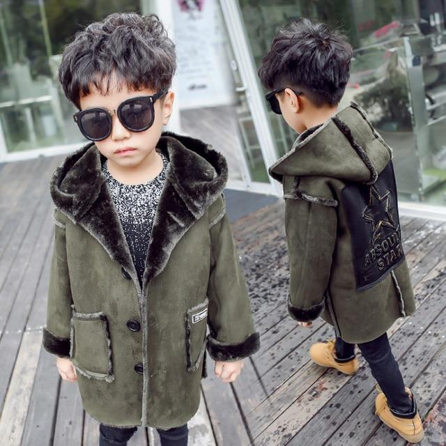 мода мальчики зима 2018