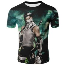 T-shirt Akatsuki Naruto characters series 3D