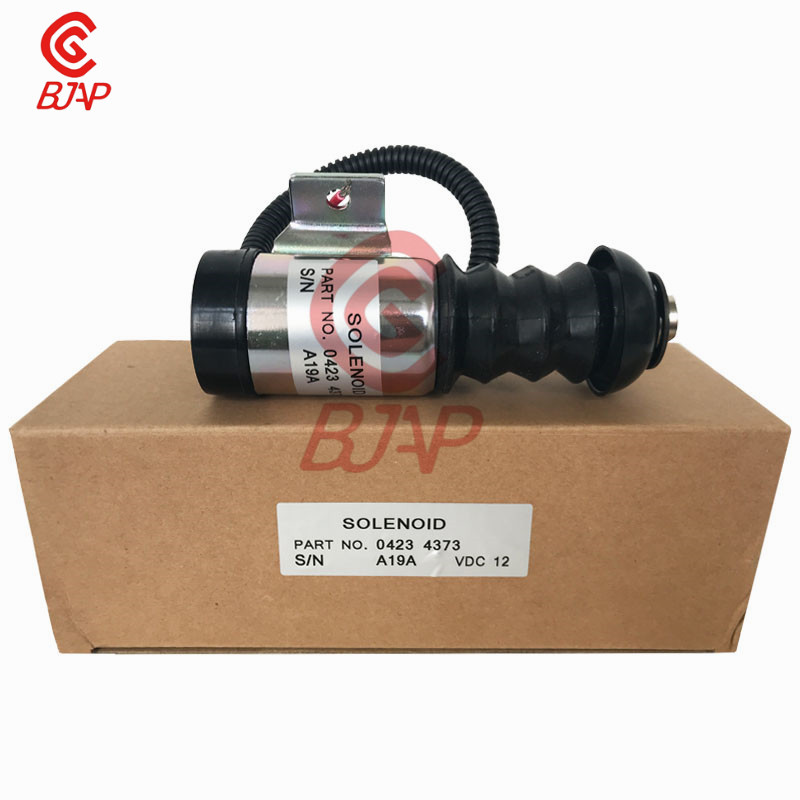 Solénoïde d'arrêt de carburant de pompe d'injection Diesel 04234373 35DZS1E2 3309F139 12 V 19A pour les moteurs Deutz BF3L912/BF3L913/BF3L914