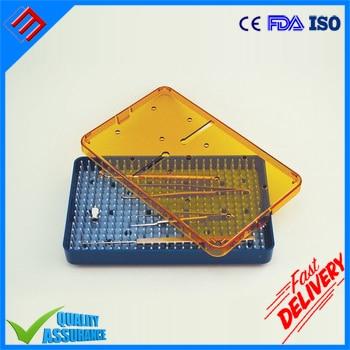 Plastic Medical Dental Instrument Tray Size 6.5 x 4 x 0.75