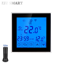 Умный дом, Wi-Fi термостат с контролем температуры для воды, горячий пол, цифровой электрический напольный нагревательный контрольный Лер