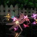 1.65 m 10LED Dragonfly Fada Luz Led String Decoração Luz Para O Casamento/Festa/Natal/Dia Dos Namorados Bateria AA Operado