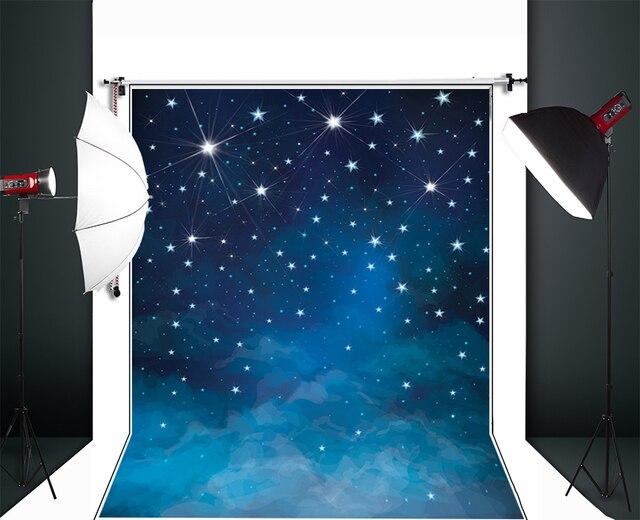 Звезды Искусства Ткань Фотографии Фон Тонкая ткань ткань Печатается фон Новорожденных Портрет Фон D-6549