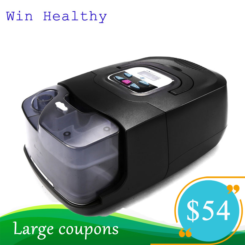 Win Healthy BMC CPAP/APAP/Auto CPAP Machine With Full Face Mask Or Nasal Mask For Sleeping And Snoring Sleep Apnea Syndrome SAS