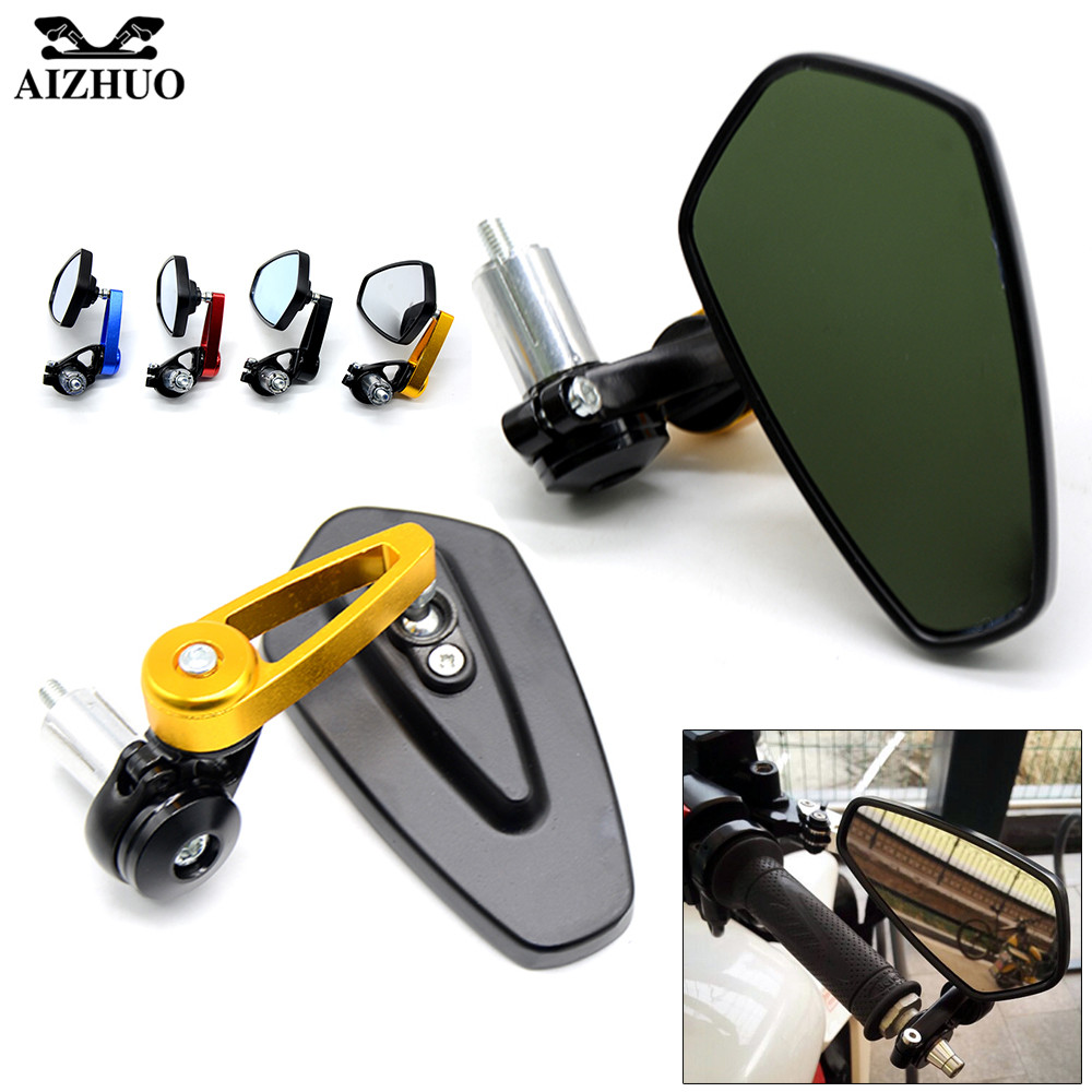 Universal Motorcycle Rear View Mirrror Handle Bar End Mirror For DUCATI S2R 1000 SPORT ST3/S/ABS ST4/S/ABS KTM HONDA