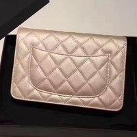 classic women original caviar bag genuine leather women handbag mini shoulder bag