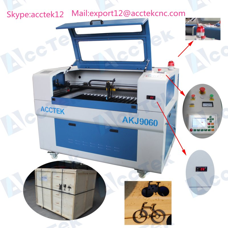 Small size 6090 100w laser cutter engraving machine laser wood laser cut wood