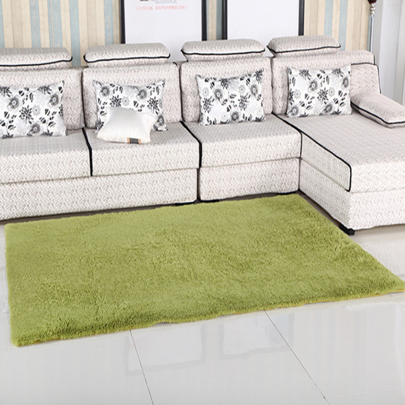Large Size Plush Shaggy Soft Carpet Area Rugs Slip Resistant Floor Mats For Parlor Living Room