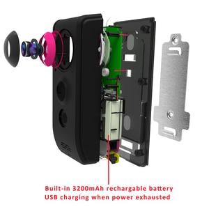 Image 5 - Vstarcam וידאו פעמון מצלמה 720P WiFi חזותי פעמון שיחת אינטרקום דלת פעמון Rechargable סוללה IR לילה אבטחת צג