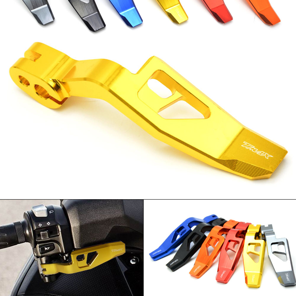 6 Colors High Quality Motorcycle CNC Aluminum Parking Brake Lever for Yamaha TMAX 500 2008-2011 T-MAX 530 TMAX 530 2012-2016 keoghs real adelin 260mm floating brake disc high quality for yamaha scooter cygnus modify