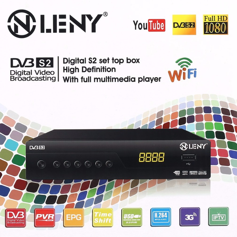 ONLENY DVB S2 TV Box STB High Definition Super Digital Satellite TV Box Receiver Support 3G Wifi win Protocol 1080P Full HD