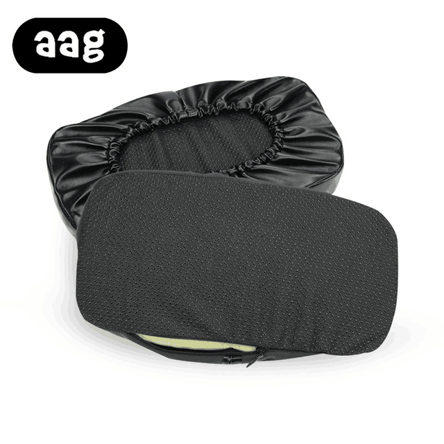 AAG chair Armrest Pads Memory Foam Elbow Pillow Support arm rest covers PU leather Armrest Chair Cushion Pads Elbow Relief