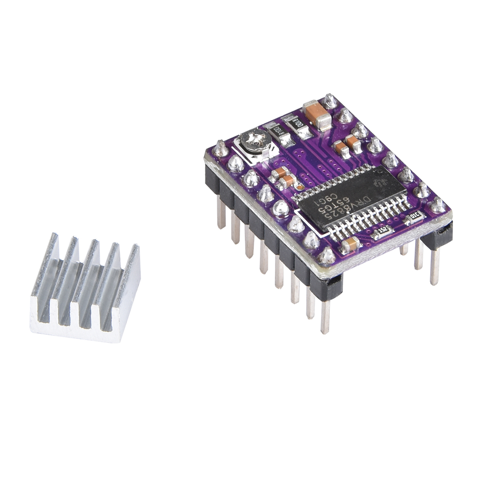 3D Printer Parts Stepstick Drv8825 Stepper Motor Driver Heatsink Reprap  Replace A4988 Driver To
