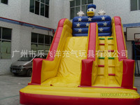 2019 slide party games Inflatable slides, bouncy castles, inflatable children's toys, customized