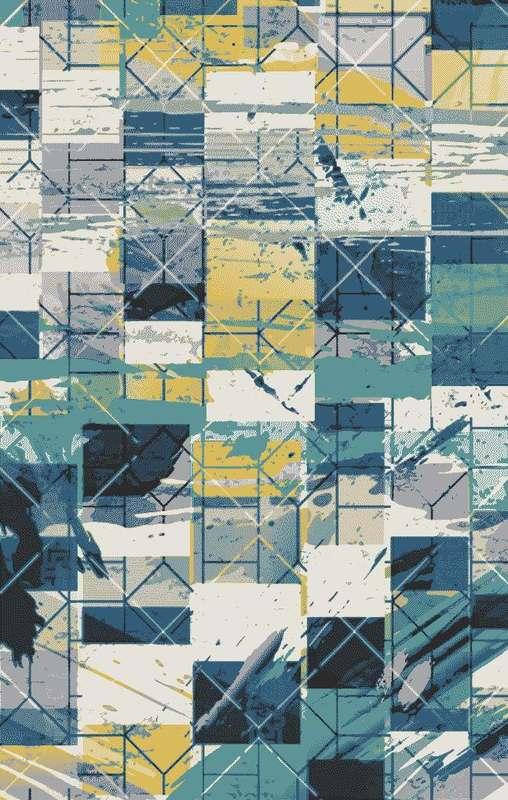 Tapis géométriques nordiques pour salon décor à la maison chambre tapis moderne Table basse tapis étude tapis de sol doux canapé tapis - 5
